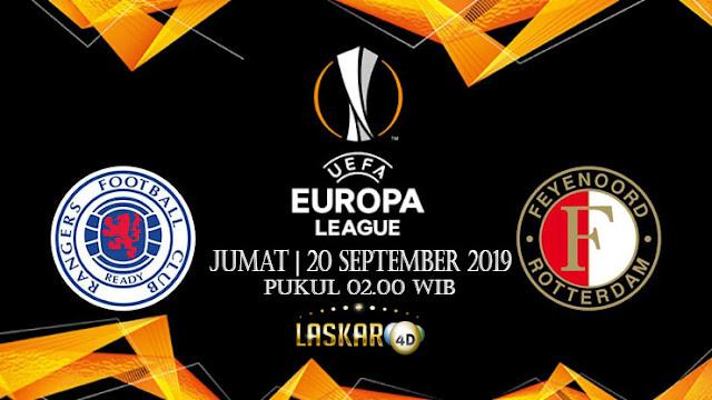 Prediksi Pertandingan Bola Rangers Vs Feyenoord 20 September 2019