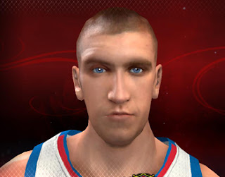 NBA 2K13 Default Cyberface of Spencer Hawes