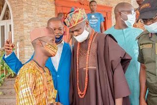 Gov. Abiodun's Aide Hadi, Lauds Olu Of Ilaro For Ensuring Peace In Yewa Land