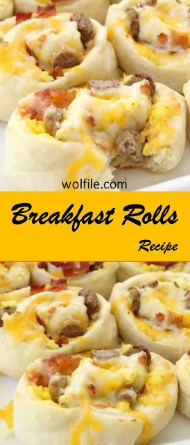 Breakfast Rolls Recipe #Breakfast