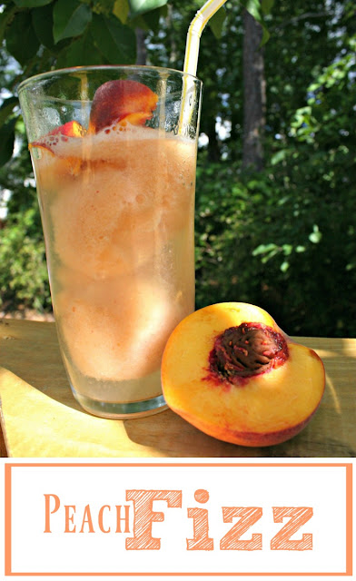 Peach Fizz - The perfect summertime drink