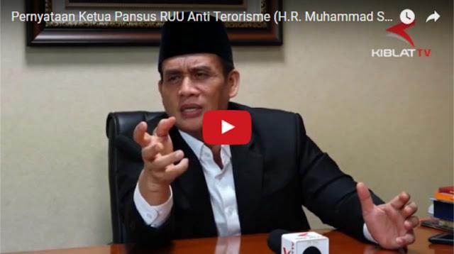 Mengejutkan! Romo Syafii Beberkan Fakta Revisi RUU Terorisme, Ulama dan Imam Masjid Bisa Dicap Teroris?