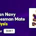 Indian Navy Tradesman Mate 2021 Exam Analysis 20th March Shift 1 :
