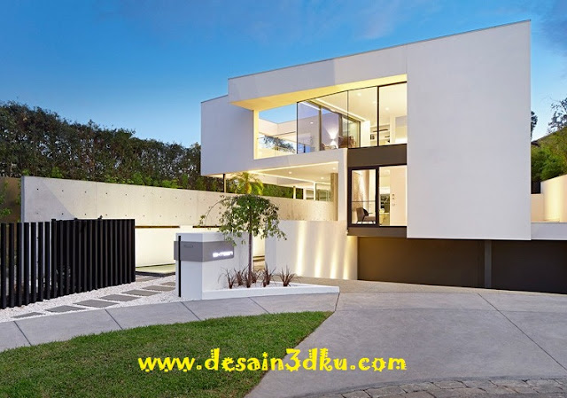 Desain Eksterior dan Interior Rumah Mewah Australia