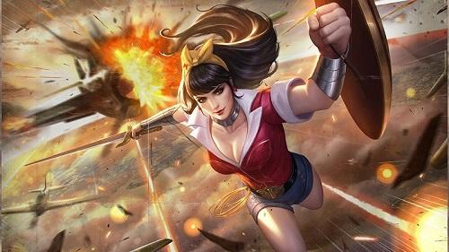 Là một anh hùng của DC Comics, Wonder Woman đã biến đổi thành một tượng trưng văn hóa thế giới, thay mặt đại diện cho khẩu ca của con gái