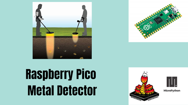 Metal detector based on Raspberry pi Pico