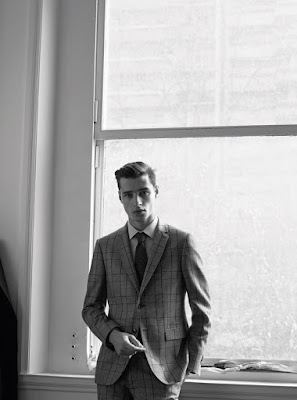 Adrien Sahores for De Fursac FW/16 Lookbook