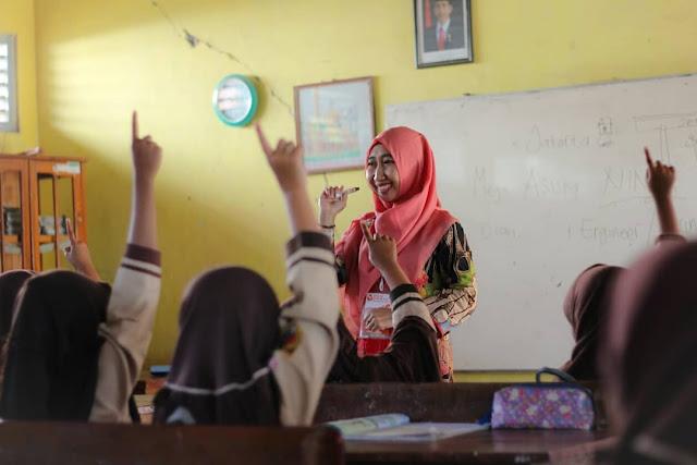 Relawan pengajar atau Inspirator