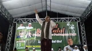Haddad Alwi Ajak Masyarakat Barabali Bersholawat