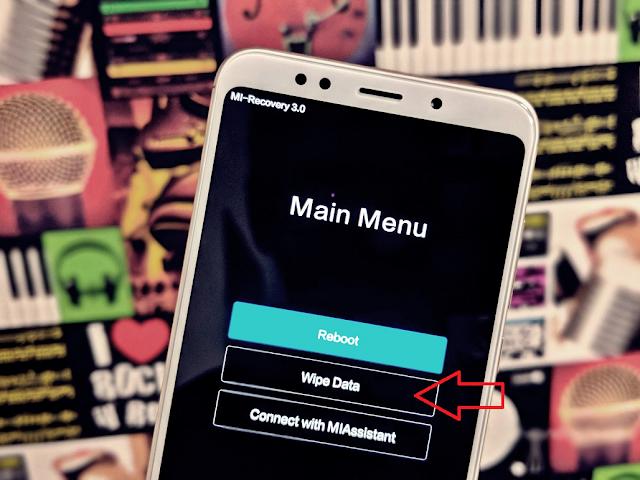 Mengatasi Bootloop Xiaomi dengan Reset dari Mi Recovery
