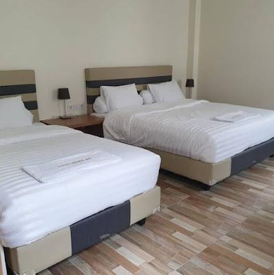 Tipe kamar Triple Room Hotel Cahaya Inn Batulicin