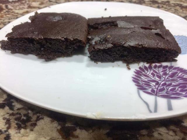 براونيز كيتو بديل الحلويات والسكريات