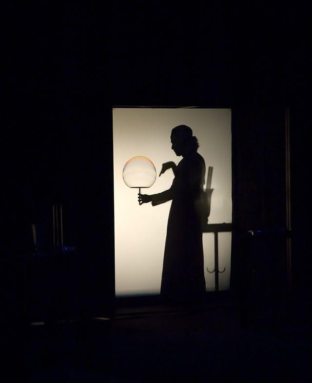 Magic Bubblebou Show at Port Aventura Amusement Park: Silhouette
