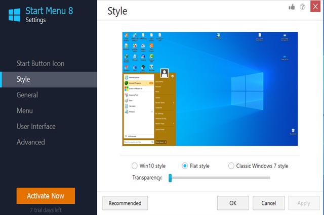تحميل برنامج Start Menu 8 لتغيير شكل قائمة إبدأ للويندوز 8/10