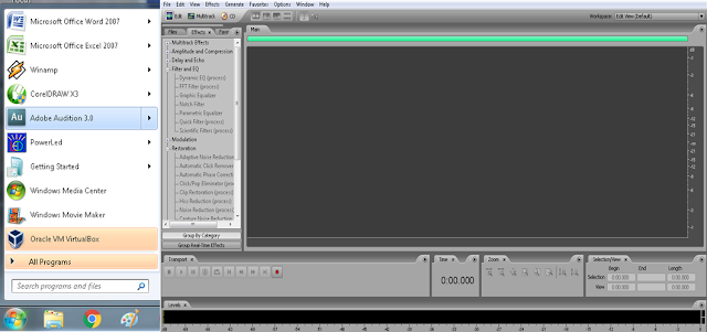 Cara Menggunakan Adobe Audition Yang Benar