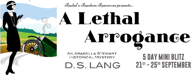 A Lethal Arrogance by D.S. Lang book review