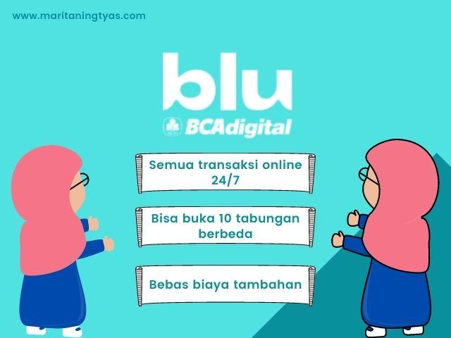 review aplikasi blu