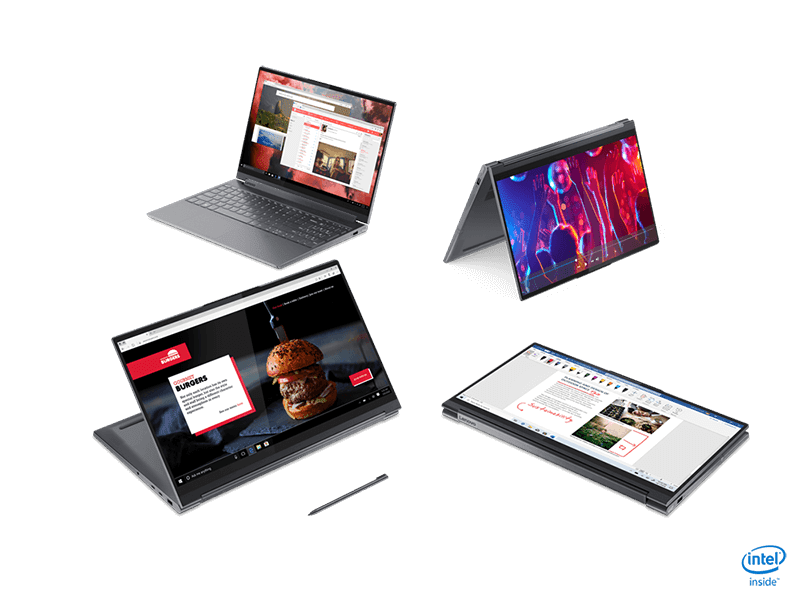 Lenovo launches new Yoga and IdeaPad series laptops, with limited edition Herschel items