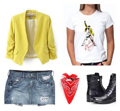 Camiseta Freddie Mercury - Diversas cores e modelos