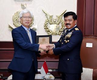 Panglima TNI dan Perwakilan DAPA