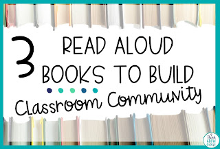 community building picture books upper elementary
