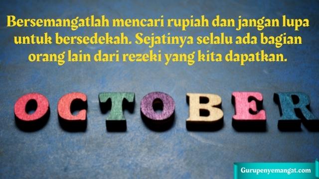 Caption Bulan Oktober Penuh Motivasi dan Inspirasi