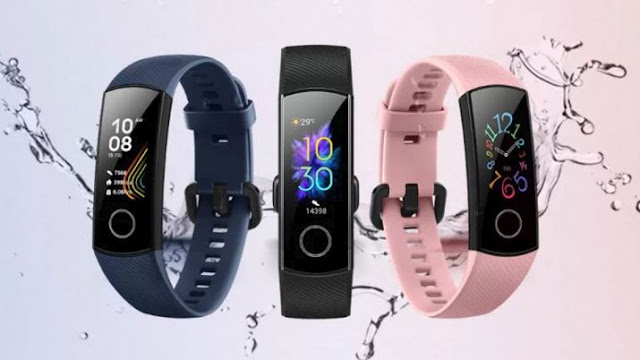 HONOR Band 5 with 0.95-inch AMOLED display set to launch in India soon