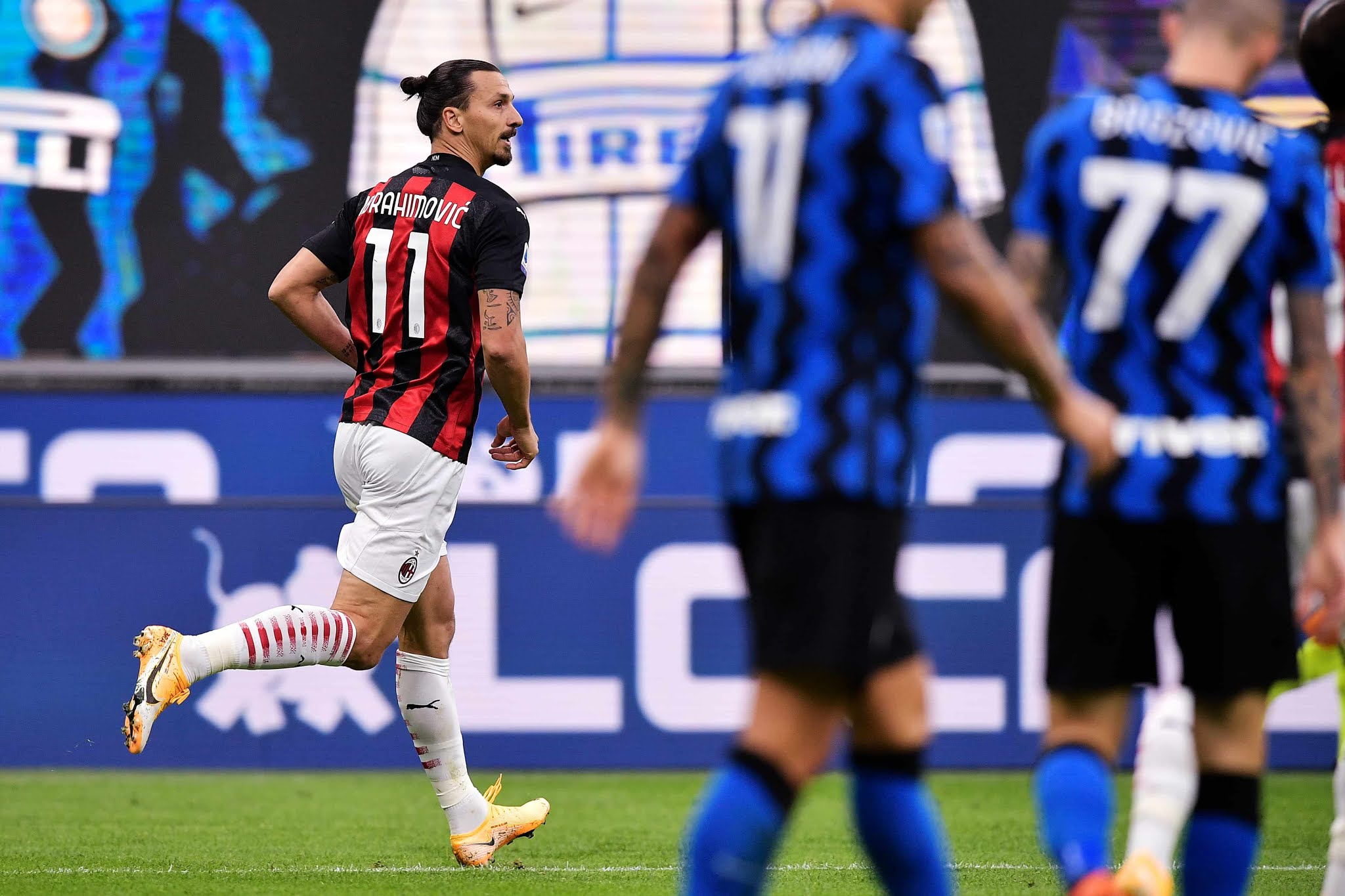 Ibrahimovic Inter de Milan vs Milan