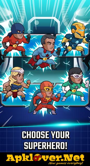 Super League of Heroes MOD APK unlimited money