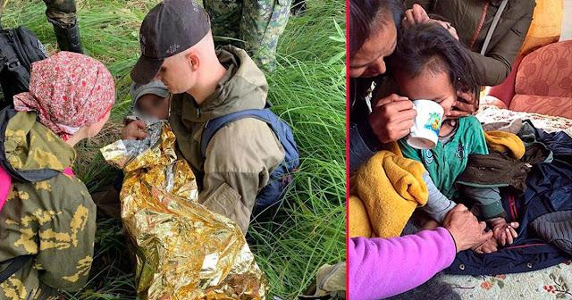 Прошел 130 км: история чудом выжившего в тайге мальчика