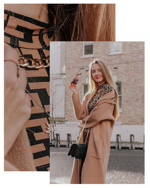 How to style camel tones in winter