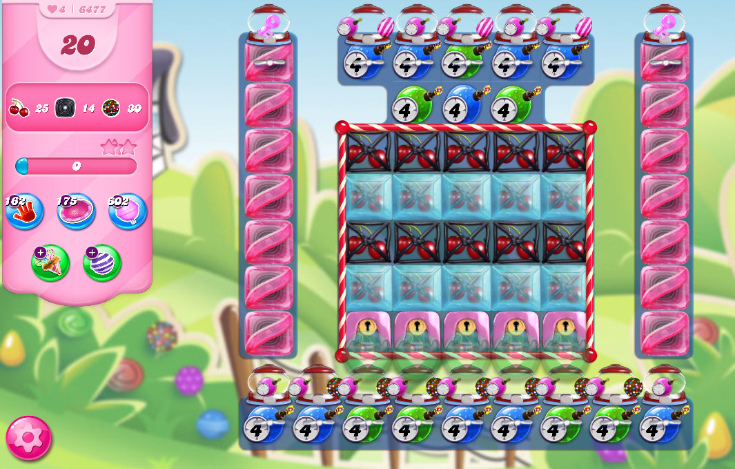 Candy Crush Saga level 6477