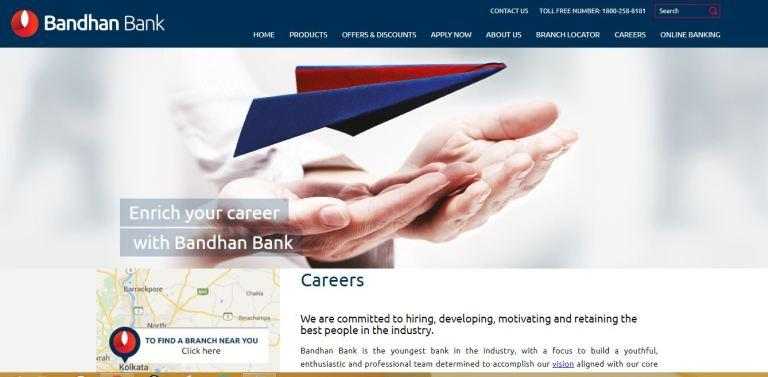Bandhan Bank Recruitment 2020 in Assam State