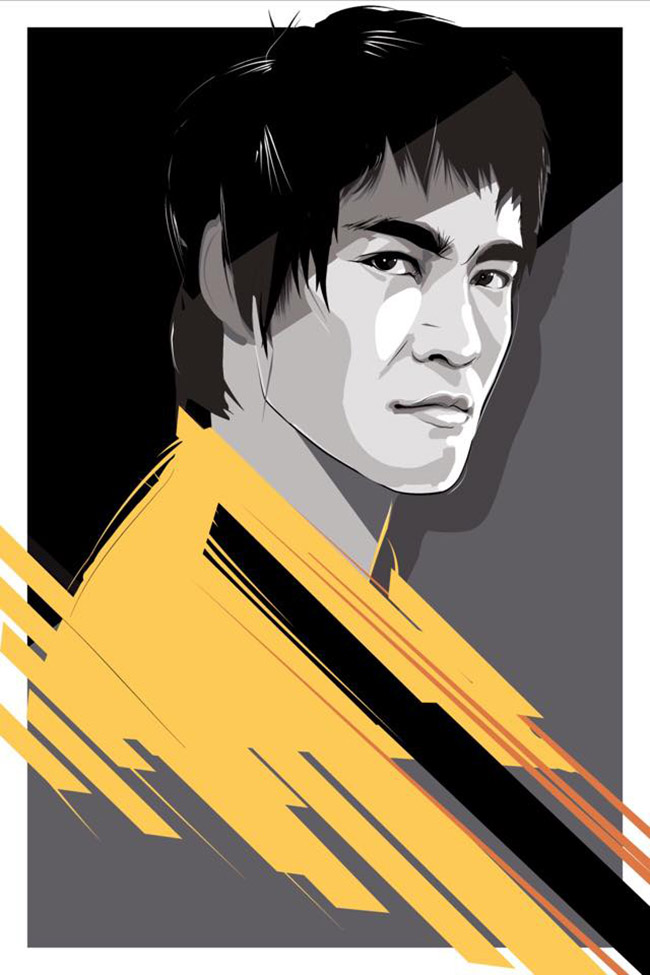 Craig Drake (US) - Bruce Lee art collection @ YellowMenace