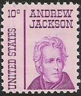 Andrew Jackson 10c 1967