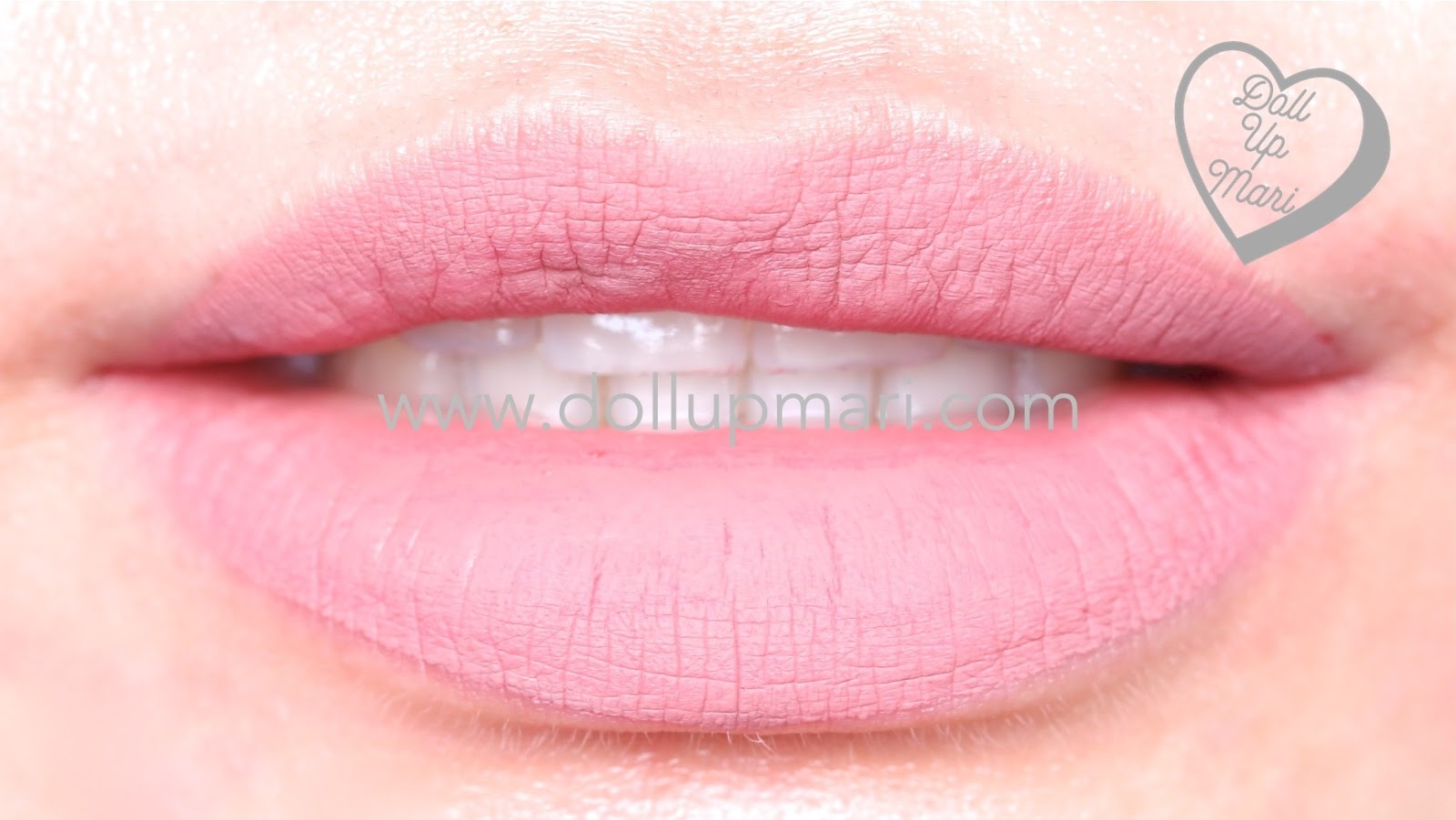 lip swatch of SilkyGirl Matte Junkie Lipcolor (10 Cupid)