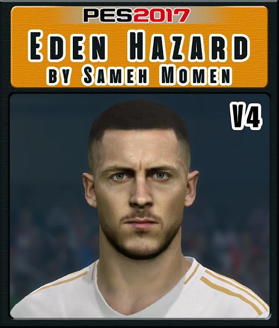 Eden Hazard For PES17 by Sameh Momen