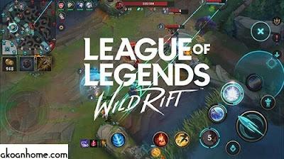 تحميل لعبة ليج اوف ليجند وايلد رفت للموبايل الجديدة League of Legend Wild Rift مجانا
