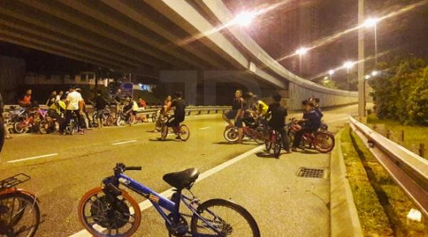 Laksanakan perintah berkurung, buang basikal diubah suai & lapor jika ternampak remaja berbasikal lewat malam