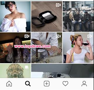 Cara blokir konten dewasa di instagram