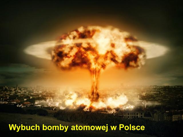 wybuch bomby atomowej w Polsce