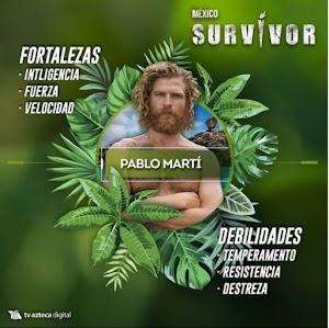 """Gana Martì el Reality deportivo  """"Survivor"""" de TV Azteca"""