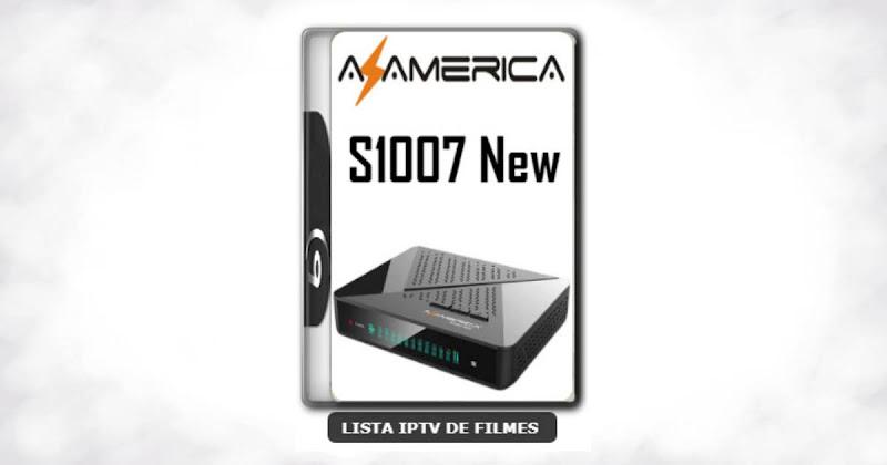 Azamerica S1007 New Nova Atualização Estabilidade de Conexão Com os Serviços IKS e SKS V1.09.21896