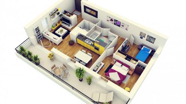 Referensi Desain Rumah Minimalis Tipe 48 yang Bisa Kamu Coba