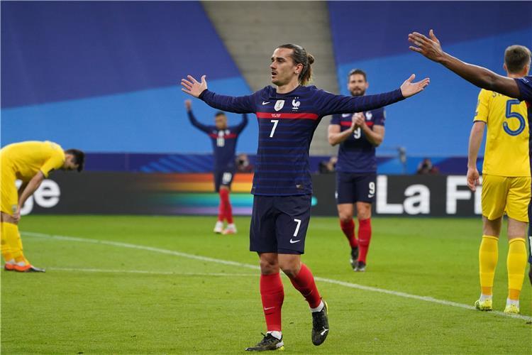 موعد مباراة فرنسا واوكرانيا في تصفيات كأس العالم