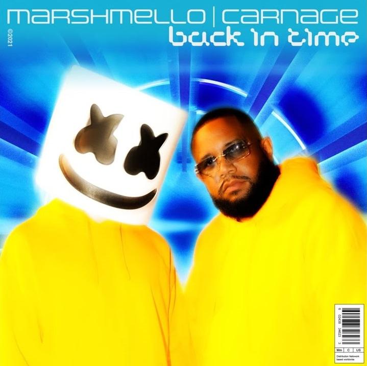 Back In Time Lyrics By Marshmello X Carnage