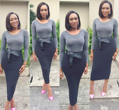 Ebube Nwagbo show out her Curves 66666