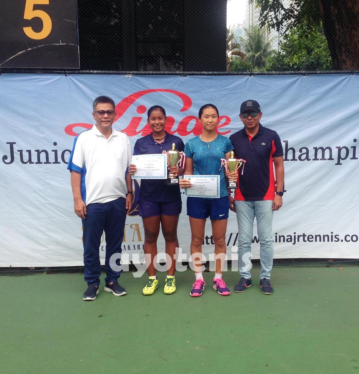 Taklukkan Janice Tjen, Fitriani Sabatini Sabet Gelar Juara AGS International Junior Championships G5