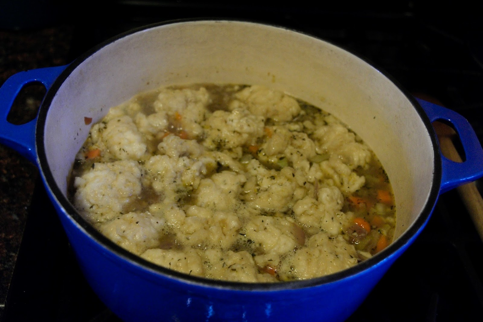 recipe: chicken and drop dumplings from scratch [30]