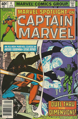 Marvel Spotlight #4, Captain Marvel, steve ditko